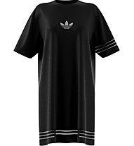 adidas Originals Tee - vestito/oversize shirt - donna, Black