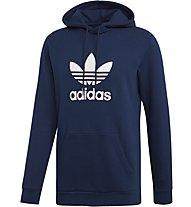 adidas Originals Trefoil Hoody - felpa con cappuccio - uomo, Dark Blue