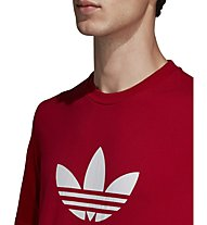 adidas Originals Trefoil - T-shirt fitness - uomo, Red