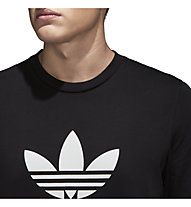 adidas Originals Trefoil - T-shirt fitness - uomo, Black