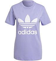 adidas Originals Trefoil Tee - T-Shirt - Damen, Purple