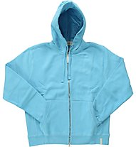 Aka Blue Zip Hoodie Phat Sweat, Light Blue