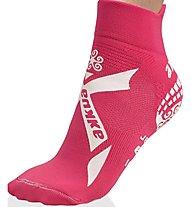 Akkua calza kids pisc. t-mix Kurze Socken Schwimmen Kinder, Pink/White