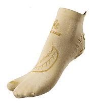 Akkua Yoga Natural calze, Ecru/Gold