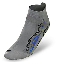 Akkua Wellness Experience Classic Socken, Grey/Blue