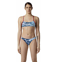 Akron B Save the Sea W - costume - donna, Blue/Red