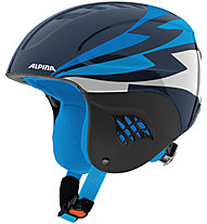 Alpina Carat - Skihelm - Kinder, Dark Blue/White