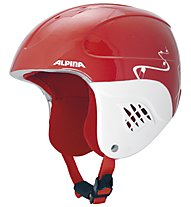 Alpina Carat - Skihelm - Kinder, Red