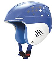 Alpina Carat - casco sci, Blue