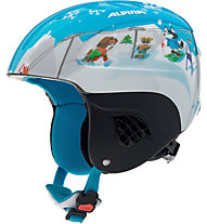 Alpina Carat - Skihelm - Kinder, Blue Dog