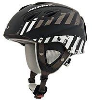 Alpina Grap 2.0 - casco sci, Black/Grey