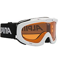 Alpina Ruby - Skibrille - Kinder, White