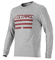 Alpinestars Jersey Merino LS - Langarmshirt MTB - Herren, Grey/Red
