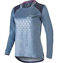 Alpinestars Stella Alps 6.0 LS - maglia bici a maniche lunghe - donna, Blue