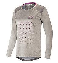 Alpinestars Stella Alps 6.0 LS - maglia bici a maniche lunghe - donna, Grey