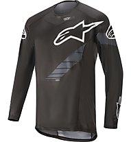 Alpinestars Techstar - maglia MTB a maniche lunghe - uomo, Black