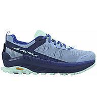 Altra Olympus 4 - Trailrunningschuh - Damen, Blue/Light Blue