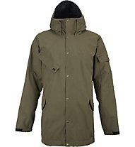 Analog Solitary Jacket Giacca con cappuccio Snowboard, Soil