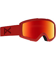 Anon Helix 2 Sonar With Spare Lens - Skibrille, Red
