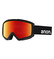 Anon Helix 2 Sonar With Spare Lens - maschera sci, Matte Black