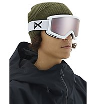 Anon Helix 2 Sonar With Spare Lens - maschera sci, Matte White