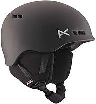 Anon Rime - casco sci - bambino, Black