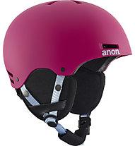 Anon Rime - casco sci - bambino, Red