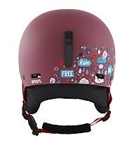Anon Rime 3 - casco sci e snowboard - bambino, Red