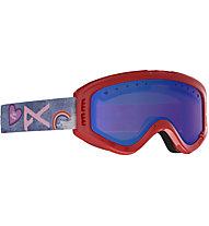 Anon Tracker - Skibrille - Kinder, Red