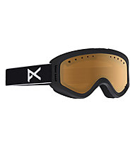 Anon Tracker - Skibrille - Kinder, Matte Black