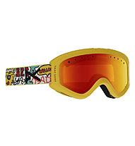 Anon Tracker - Skibrille - Kinder, Yellow/Multicolor