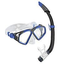 Aqualung Combo Hawkeye - Taucherbrille + Schnorchel, Blue/Grey