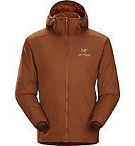 Arc Teryx Atom LT - giacca imbottita con cappuccio - uomo, Brown