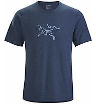 Arc Teryx Cormac Logo - T-Shirt - Herren, Blue