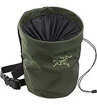 Arc Teryx ION Chalk Bag Large - porta magnesite, Dark Green
