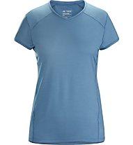 Arc Teryx Kapta SS - Trailrunningshirt - Damen, Light Blue