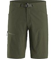 Arc Teryx Lefroy Short 11 - pantaloni corti trekking - uomo, Dark Green