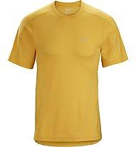 Arc Teryx Motus Crew SS - Trekkingshirt - Herren, Yellow