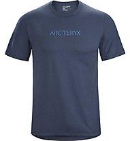 Arc Teryx Remige Word SS - T-shirt trekking - uomo, Dark Blue