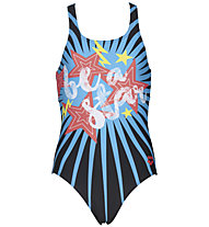 Arena Vibes Jr. Swim Pro One Piece - Badeanzug - Mädchen, Blue
