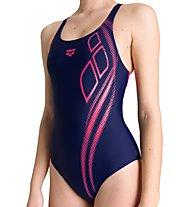 Arena W Arena Spirit Swim Pro Back - Badeanzug - Damen, Blue/Pink