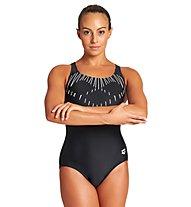 Arena W Trick Swim Pro Back - Badeanzug - Damen, Black/White