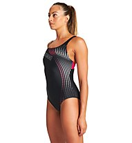 Arena W Vibrancy Swim Pro Back - Badeanzug - Damen, Black
