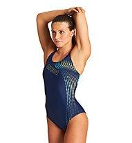 Arena W Vibrancy Swim Pro Back - Badeanzug - Damen, Blue