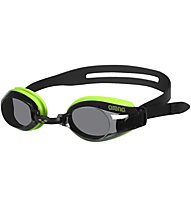 Arena Zoom X-Fit - occhialini nuoto, Black/Green