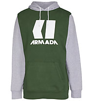 Armada Icon Hoodie - Kapuzenpullover - Herren, Green/Grey