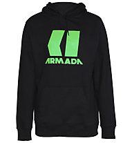 Armada Icon Hoodie - felpa con cappuccio - uomo, Black