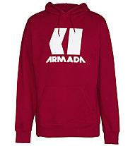 Armada Icon Hoodie - felpa con cappuccio - uomo, Red