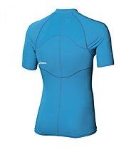 Asics Inner Muscle 1/2 zip T-Shirt Running, Atlantic Blue