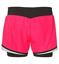 Asics 2in1 Short W - Kurze Trainingshose - Damen, Pink